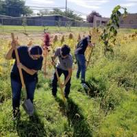 Service Learning:Van Buren Middle School Community Garden