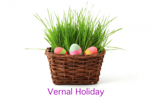Vernal Holiday